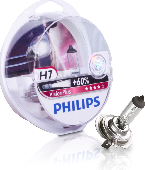 Ламп.PHILIPS H7 12v55w.+60% COLOR VISION YELLOW (PX26d) (кт 2шт) 3350k 12972CVPY2